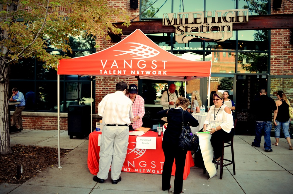 Vangst Talent Career Fair Images